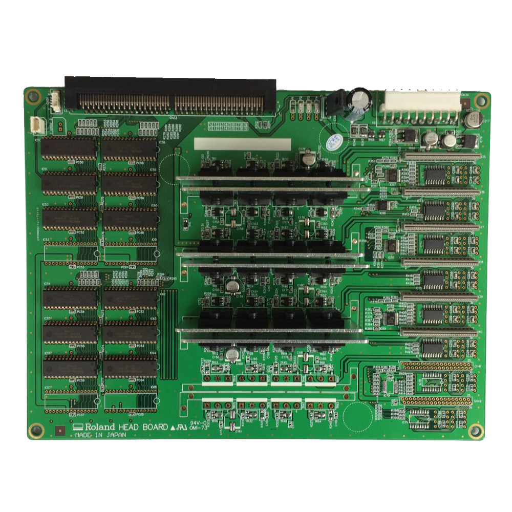 Roland SJ-540 / SJ-740 / FJ-540 / FJ-740 4 dx4 Heads ad Board good quality wide format printer roland sp 540 640 vp 300 540 rs640 540 ra640 raster sensor for roland vp encoder sensor