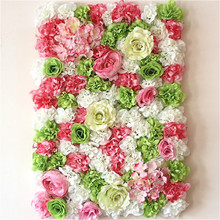 60x40 cm Artificial flower wall background Wedding props supplies Wall decoration Arches silk flower Rose peony Window studio стоимость