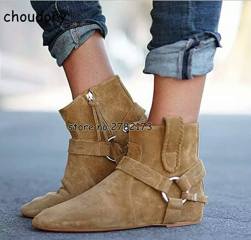 Spring Autumn Fringed Height Increasing Woman Ankle Booties Round Toe Rome Designed Suede Hidden Wedge Lady Short Boots Shoes front lace up casual ankle boots autumn vintage brown new booties flat genuine leather suede shoes round toe fall female fashion