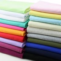 100% coton tissu pour patchwork mince doux bébé T-shirt tissu 100*185 cm tricoté extensible Été jersey tissus BRICOLAGE robe Élastique