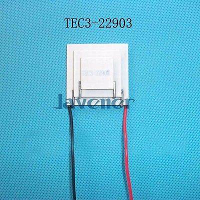 TEC3-22903 Heatsink Thermoelectric Cooler Peltier Cooling Plate 12V 3A 11.1W Refrigeration Module