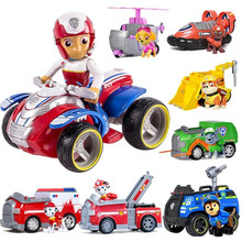цена на Paw Patrol Dog Patrol Car Toys Action Figure Model Figurine Plastic Separable Toy Patrulla Canina Kids Toys Birthday Party Gift