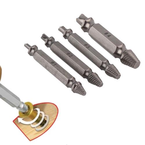 Fixmee 4pc Schroef Extractor Boorgeleider Set Verwijdering Gebroken - Boor - Foto 5