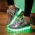 KRIATIV Colorido Luminoso Led Zapatos de bebé zapatillas Zapatillas led de Carga Usb con la luz hasta los zapatos LUMINOSOS Zapatillas de Deporte
