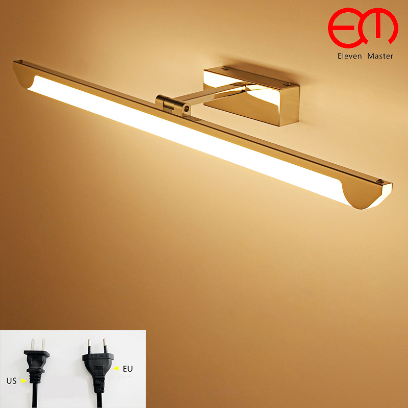 mordern mirror lamp with plug bathroom Moisture proof wall light LED rocker arm mirror light mirror cabinet wall lamp RML0040 american retro mirror lamp with plug bathroom moisture proof wall light led mirror light mirror cabinet wall lamp kml0047