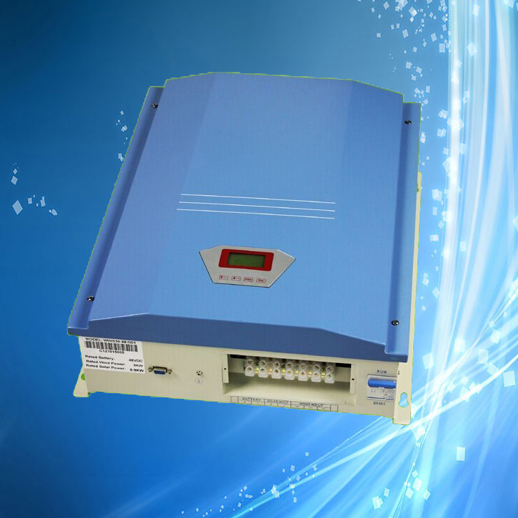1000W Wind/Solar Hybrid Controller, Battery Charge controller 24V/48V, for 1KW Wind Generator and 300W Solar Panel