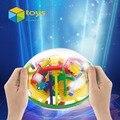 3D Bola Laberinto Perplexus Bola Rompecabezas Laberinto Laberinto Inteligencia Bola Mágica Intelecto Juguetes Educativos para Niños 299 Barreras