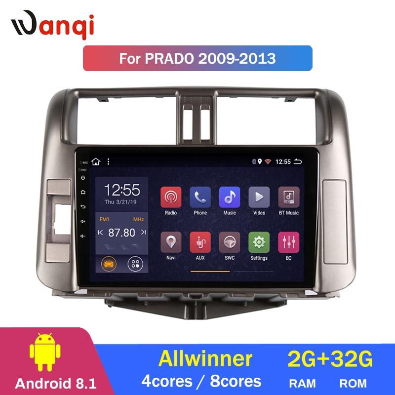 2G Оперативная память 32G Встроенная память Автомобиль Радио Видео мультимедийный плеер для Toyota LAND CRUISER PRADO J150 2009 2013 gps навигации