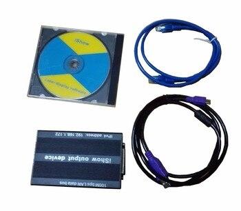 Original iShow3.0 Ethernet Bühne Laserlicht Software 64 bit und USB Zu ILDA Box