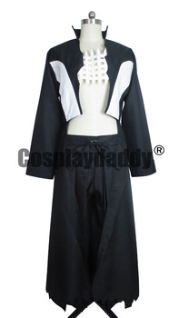 Twin Star Exorcists Kamui Halloween Black Suit Cosplay Costume S002
