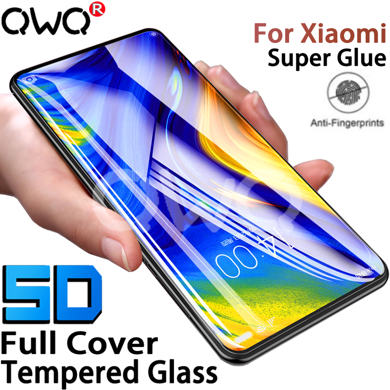 Screen-Protector Xiaomi Redmi Protective-Glass Lite-Film Note-7 Mix 3 5D for Mi-9/6/8-lite