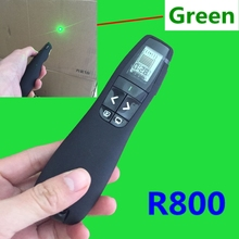 "new and Original Professional Presenter R800 (Built-In Class 2 ""Green"" Laser Pointer ;2.4GHz RF Wireless Technology)"