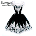 Burvogue Women Lace Sleeveless Dress Elegant Party Dress Casual Summer Ladies New Arrivals Beautiful Casual Dresses Hot Selling
