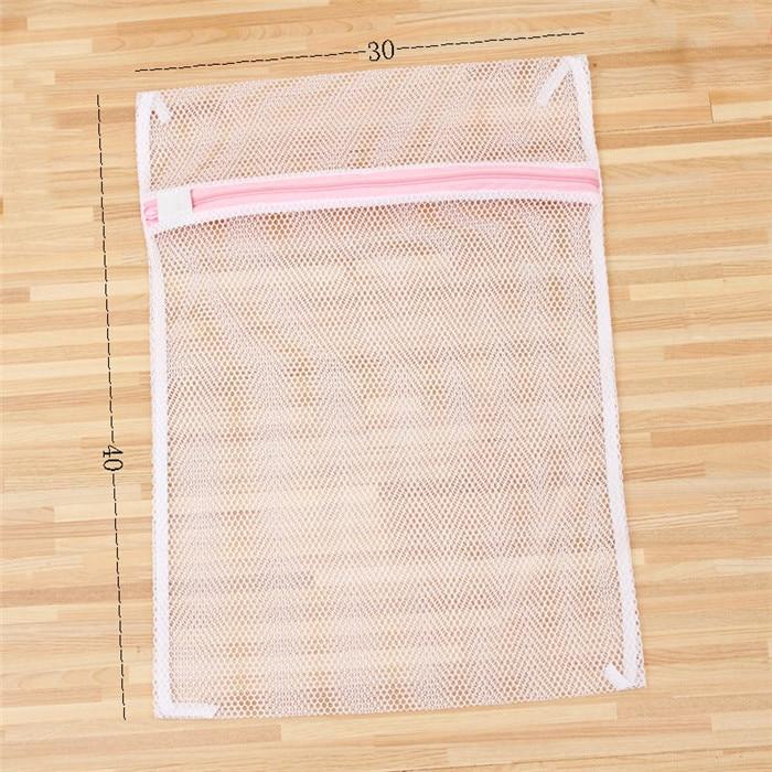 Premium Laundry Mesh Washing Bag Size 30*40cm Polyester Coarse-Mesh Delicates Laundry Bag Lingerie Bag Protects Clothes Washing