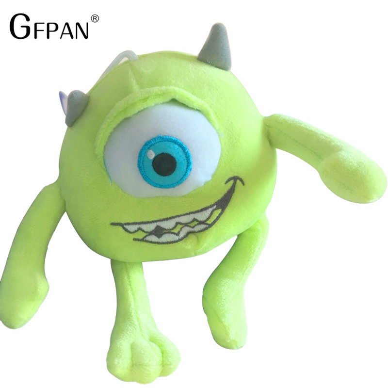 Hot Toys 20cm Inc Monsters University Monster Mike Wazowski& James P. Sullivan Funny Plush Stuffed Doll Magic Gift for Kid Baby стоимость