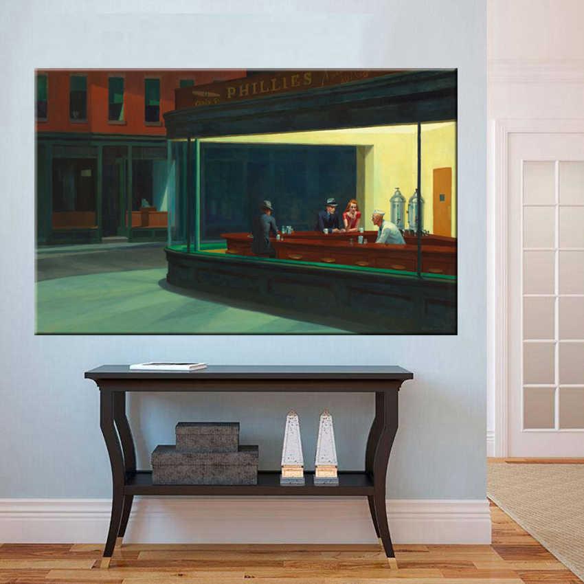 30aeeaf721f29 1 pc halcones de la calle tranquila clásico pintura cartel pared pintura  impresión de la lona