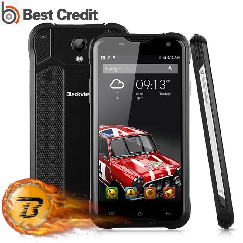 "Цена за В наличии! оригинал blackview bv5000 4g lte водонепроницаемый mtk6735 5 ""Quad Core HD Android 5.1 Мобильный Сотовый Телефон 2 ГБ RAM 16 ГБ ROM 8MP"