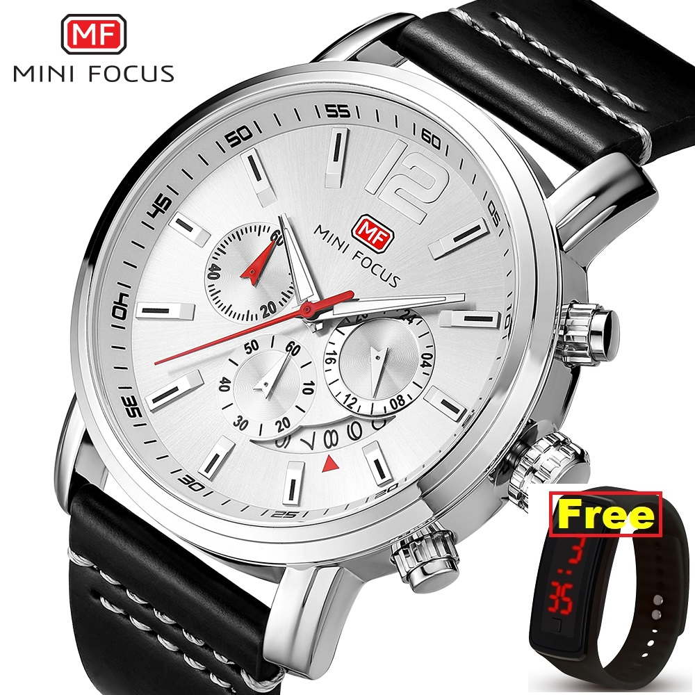 MINI FOCUS Luxury Brand Mens Analog Quartz 24 Hour Date Watches Man 3ATM Waterproof Clock Men Sport Leather Band Wrist Watch 86MINI FOCUS Luxury Brand Mens Analog Quartz 24 Hour Date Watches Man 3ATM Waterproof Clock Men Sport Leather Band Wrist Watch 86