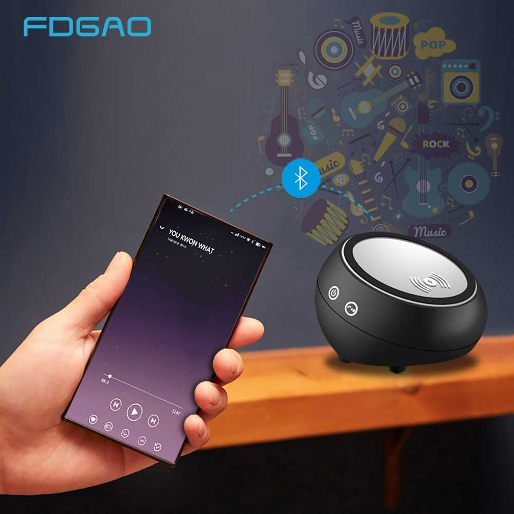 Detail Feedback Questions about FDGAO Bluetooth Speaker Qi