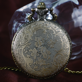 Games of Thrones Strak House Bronze Quartz Pocket Watch Vintage Retro Classic Design Fob Time For Men Women Relogio De Bolso