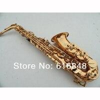 France Copy Henri Selmer E Alto Saxophone Super Action 80 Series II Gold Surface
