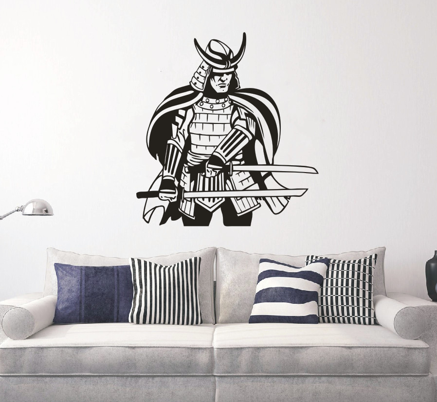 Japanese Home Decor Store: Aliexpress.com : Buy Removable Japanese Warrior Samurai