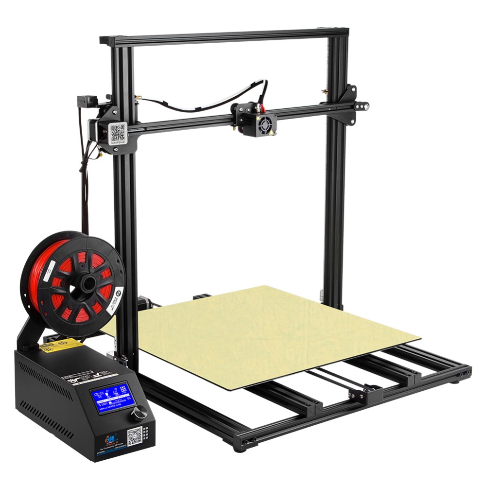 2018 EU CR-10 5S 3D Printer Kit DIY Large print size 500*500*500mm Easy Assemble printer 3D Filaments+Hotbed+tools Creality 3D creality 3d cr 10 series large 3d printer large printing size 500 500 500mm diy kit 3d printing machine with aluminum hotbed