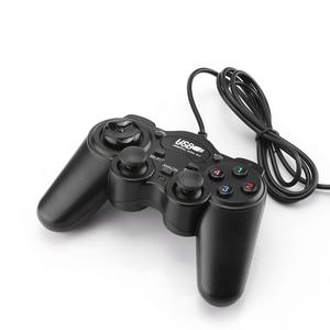 Image 5 - Kablolu USB 2.0 Gamepad denetleyici Joystick Joypad süper çift titreşim 850 PC Laptop için bilgisayar veya Win7/8/ 10 XP/Vista