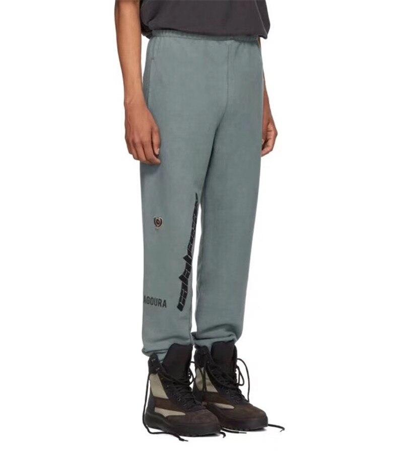 25958f4f8 Season 5 Embroidery Calabasas Sweatpants Women Men 1 1 High Quality Kanye  West Fashion Drawstring Joggers Season 5 Sweat Pants