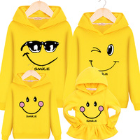 Family Macthing Clothes 2017 New Hot Sale Hooded Sweater Jacket Casual Sweater Mother And Daughter Christmas
