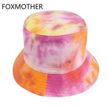 FOXMOTHER-Gorros de pescador con grafiti para hombre y mujer, estilo Hip Hop, Multicolor, para deportes al aire libre, pesca, Verano