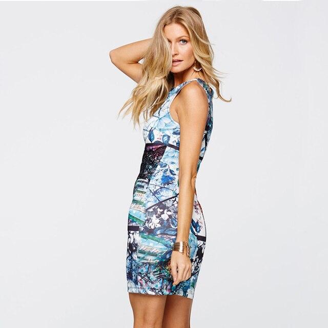 Elegant Floral Lace Printed Dress
