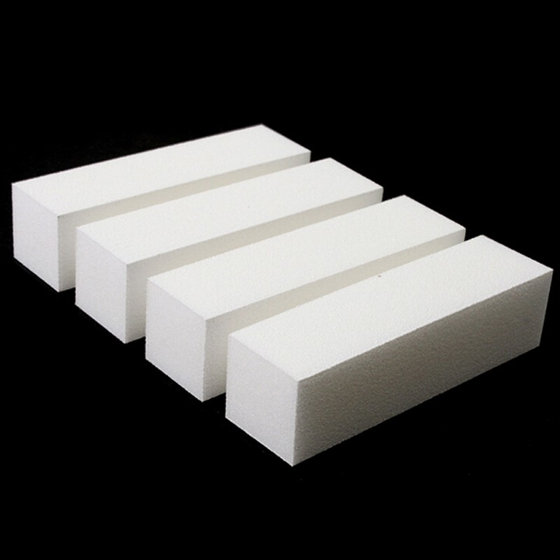 цены 10pcs Nail Art Buffing File Block Pedicure Manicure Buffing Sanding Polish White Nail File Beauty Tools Nail Care Art Tips