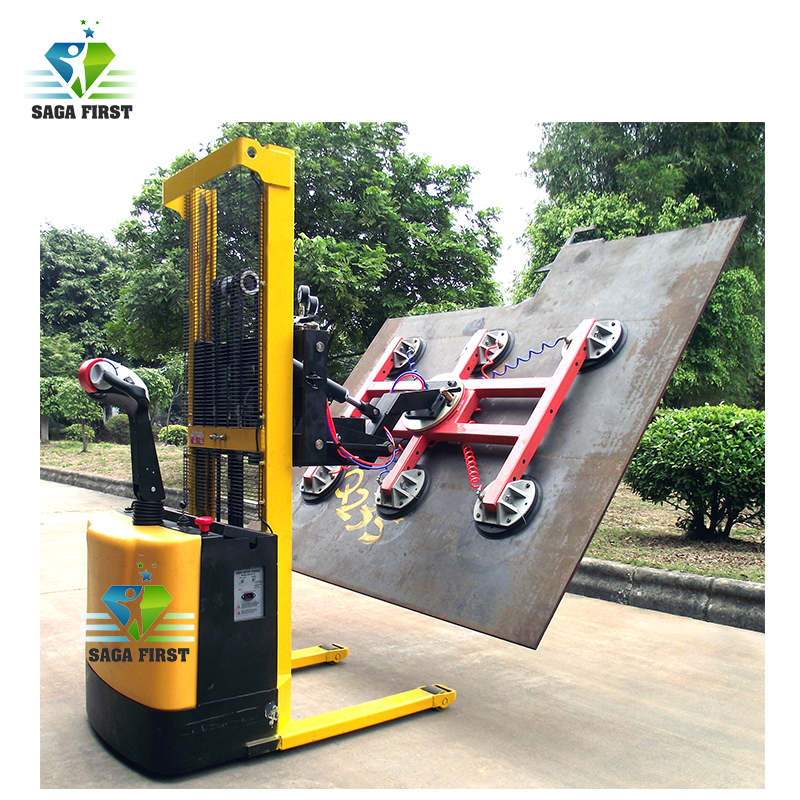 600kg 800KG Heavy Duty Glass Steel Plate Suction Vacuum Lifter For Sales