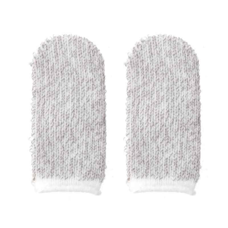 1 par móvil dedo puesto sensible controlador de juego de sudor transpirable dedo cunas accesorios para Iphone Adnroid