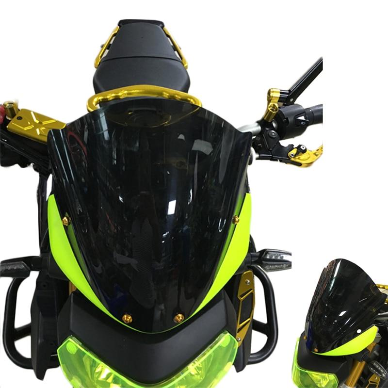 KEMiMOTO For Yamaha MT-09 FZ09 MT09 MT 09 2014 2015 2016 Motorcycle Accessories Short Windscreen Windshield Wind Screen universal cnc fairing wind screen screws bolt windshield mounting nut wellnut body work fasten for yamaha mt03 mt09 mt 03 mt 09
