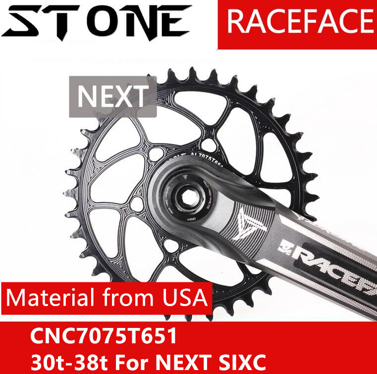 цены Stone bike Chainring race face narrow wide wolf Tooth 30t 32 34 36 38 3.5MM Offset MTB Chainwheel Bicycle Plate for RF Next Sixc