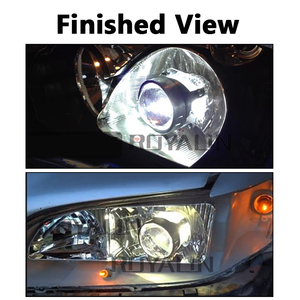 Image 5 - ROYALIN Bi Xenon HID H1 Mini Projector Lens 2.5 Auto Headlight Halogen Lens Hi/Lo Beam for H4 H7 Car Styling Bulb Retrofit DIY