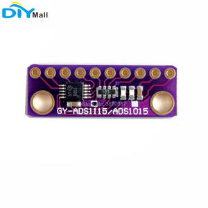 Image 3 - 5pcs/lot GY ADS1115 16 Bit I2C 4 Channel ADC Module with Programmable Gain Amplifier for Arduino Raspberry Pi