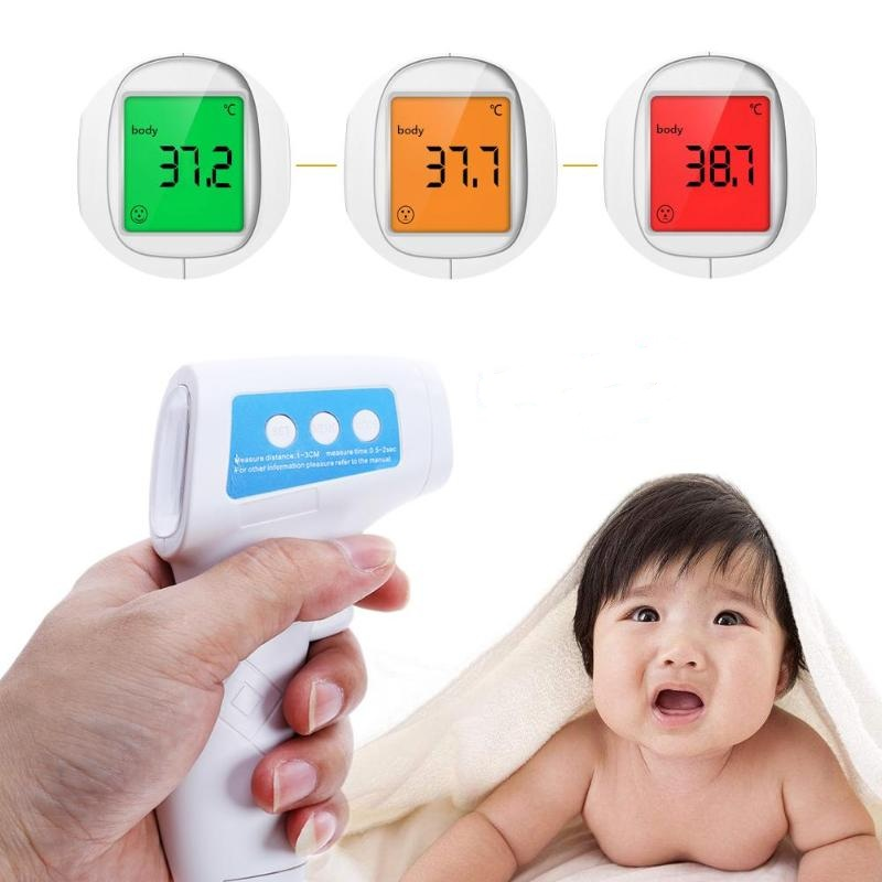 Thermometers 2019 Baby/adult Digital Termomete Infrared Forehead Body Thermometer Gun Non-contact Medical Electronic Termometro Children Baby Care