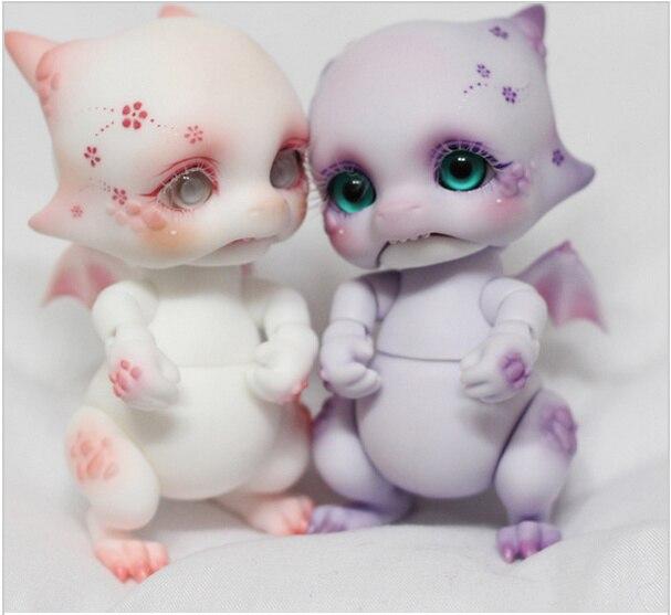 ФОТО BJD SD 1/8 Purple Basic Purple Dragon 1.8 Dolls