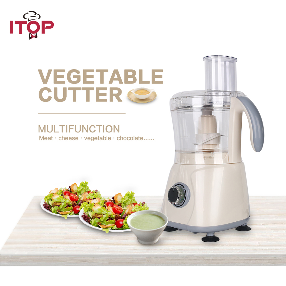 Itop Latest Commercial Blender Fruit Vegetable smoothies Food Mixer Food Processors Stainless Steel Blade blade for meat cutting machine food processors with blade knife for commercial or home use qw