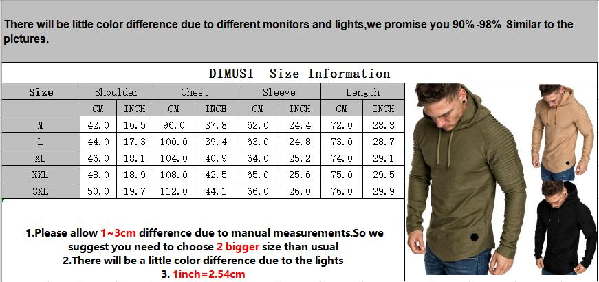 DIMUSI Brand Fashion Mens Hoodies Men Solid Color Hooded Slim Sweatshirt Mens Hoodie Hip Hop Hoodies Sportswear Tracksuit,TA301 5