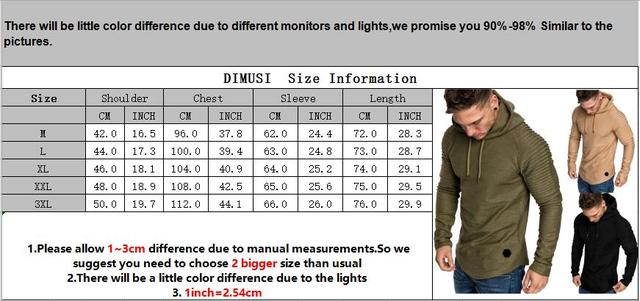 Fashion Mens Hoodies Solid Color Hooded Slim Sweatshirt Hip Hop Hoodies Sportswear Tracksuit 5