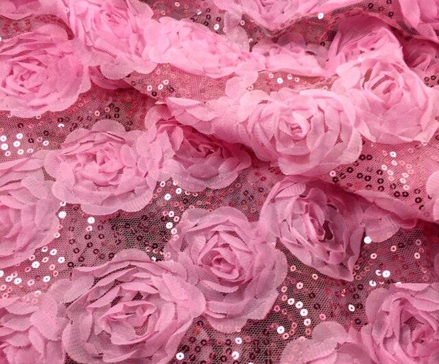 РОЗОВЫЙ ФОН 1-metro-135-cm-53-14-largura-de-paet-s-rosa-3D-subiu-malha-tecido-bordado.jpg_640x640