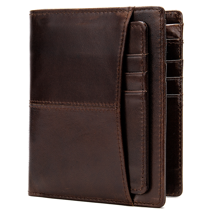 Woman Wallet 2019 Vintage Genuine Leather Mini Mens Wallet Male Red Women Wallets Luxury Brand Wallets Designer Men Purse   8563