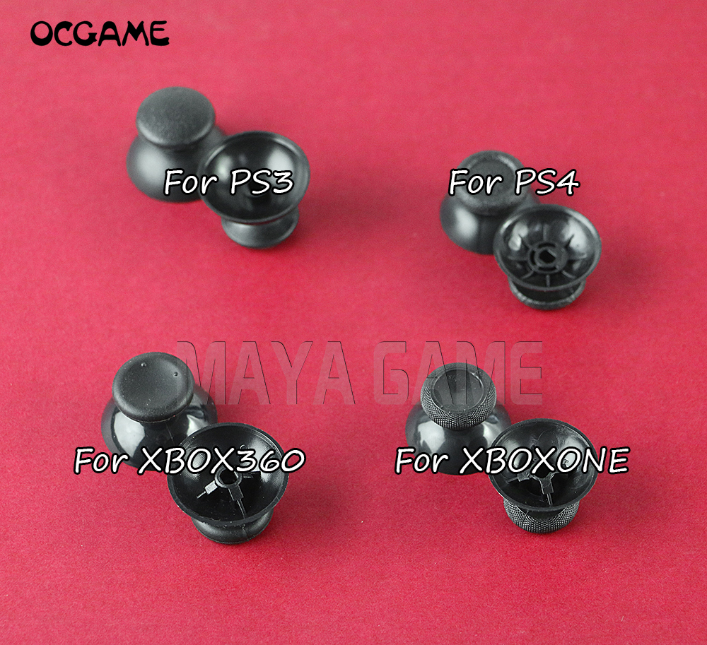 OCGAME 500pcs lot Mushroom Analog Thumbstick for ps4 ps3 xbox 360 xbox one controller thumb stick