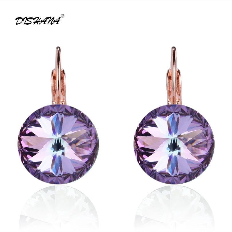 137d0e003 Dishana Jewelry 2019 Drop Earrings Stone Earring for Women