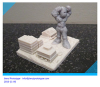 Custom precise 3D printing 1/6 military action figure head parts rapid prototype