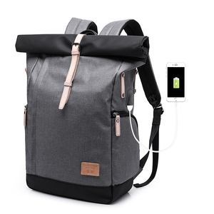 Image 5 - KAKA Marke Männer Frauen Rucksack Tasche College Casual Schule Rucksack Männlichen Reisetasche 15,6 USB Laptop Rucksäcke Mochila rucksack
